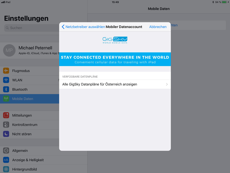 Berühmt Ipad Verbinden Mit Internet Verdrahtet Ideen - Elektrische ...